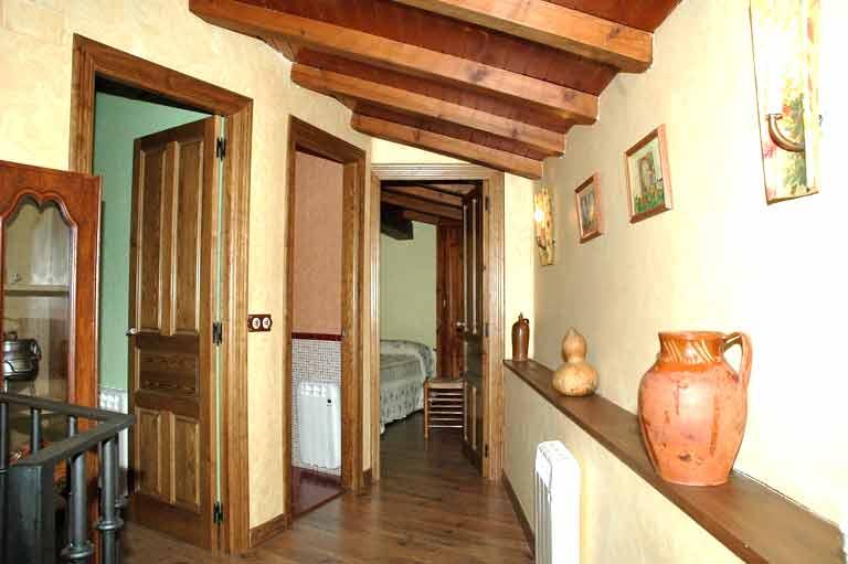 Pasillo de la casa rural del Abuelo Roman