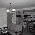 Salon y cocina de casa del Abuelo Roman